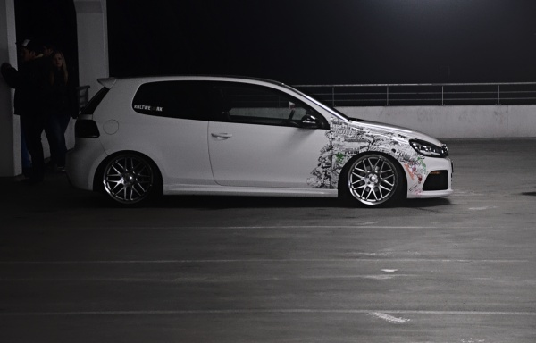 stanced VW Golf 6